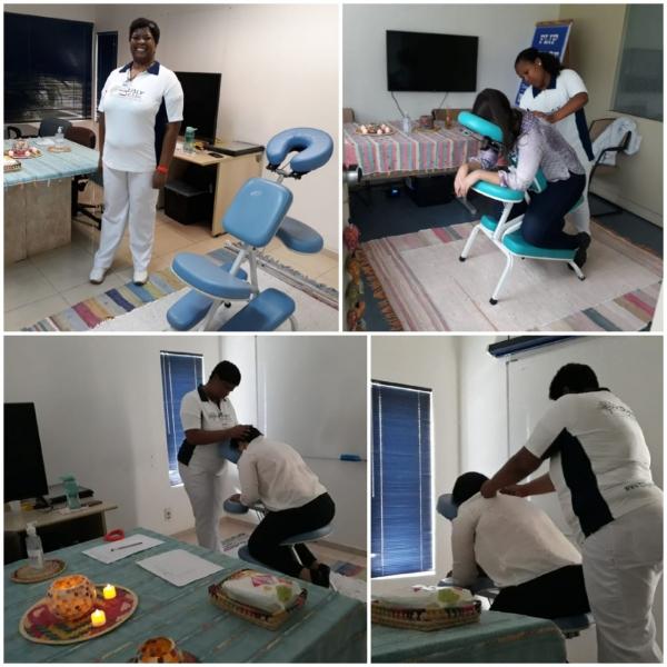 Qualy Sessa ministra sessões de Quick Massage em SIPAT