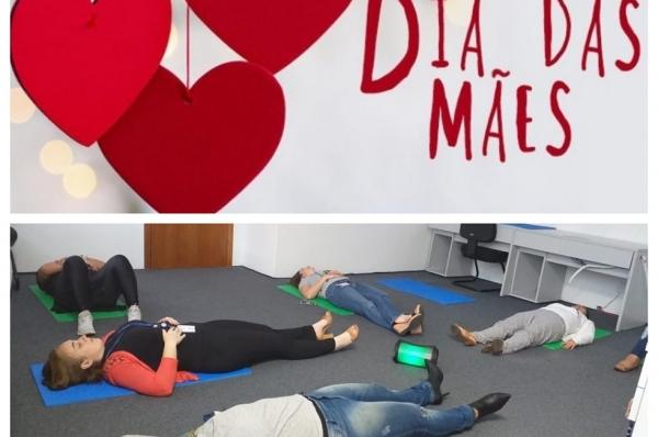 Mães de empresas parceiras da Qualy Sessa ganham sessão de relaxamento guiado