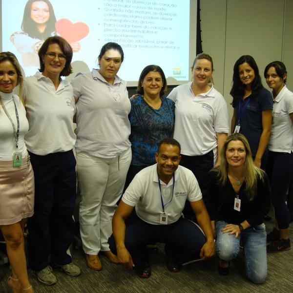 Qualy Sessa leva o Programa Saúde do Coração a BR Petrobrás