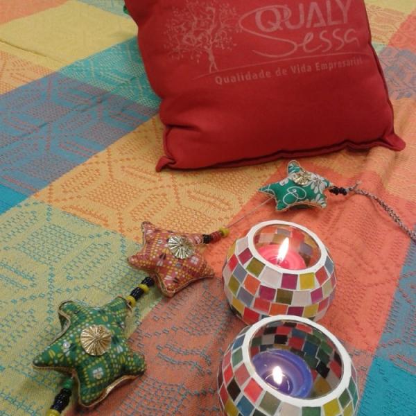Qualy Sessa realiza intervenção para marcar o Dia Nacional de Combate ao Estresse