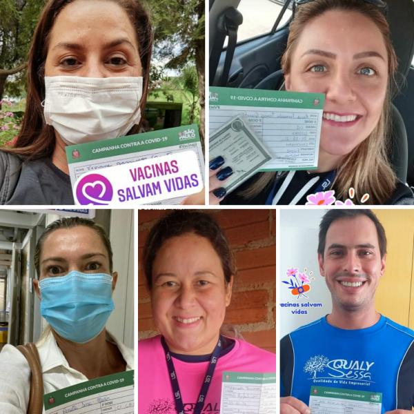 Equipe Qualysessa Vacinada