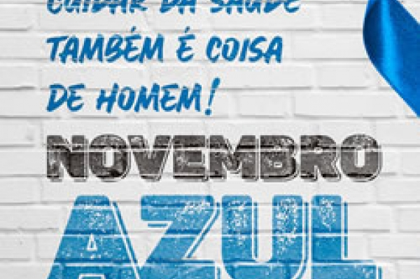 Novembro Azul - Capa